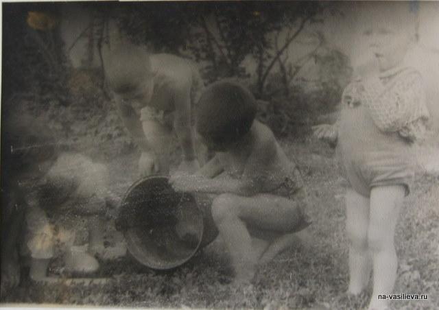1947, Наташа и Ярослав Васильевы