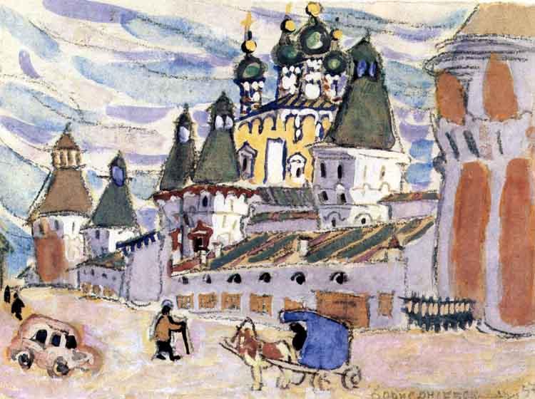 Маврина Т. «Борисоглеб. Монастырь-музей», 1957