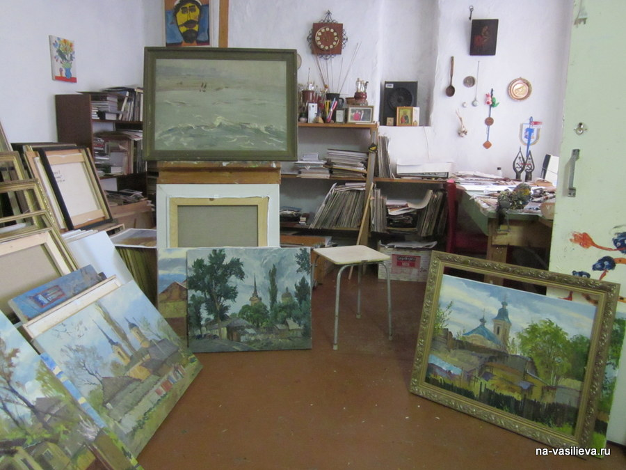 Мастерская художника Вячеслава Игнатенко