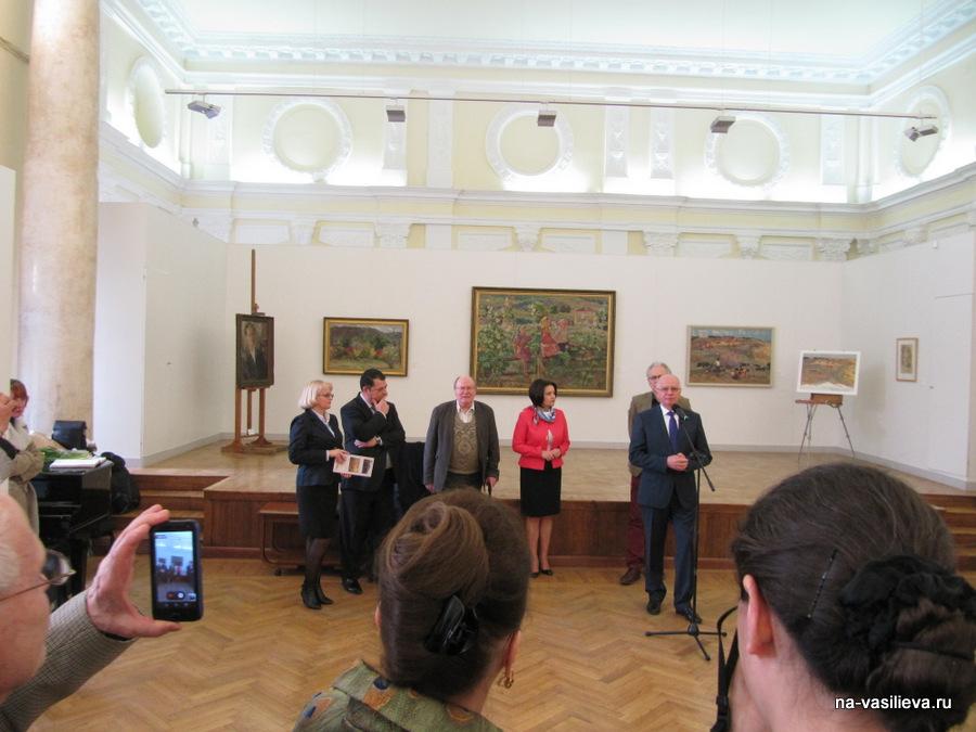 Выставка Алексея Васильева в Национальном Художественном музее Молдовы