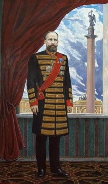 И. Глазунов Столыпин