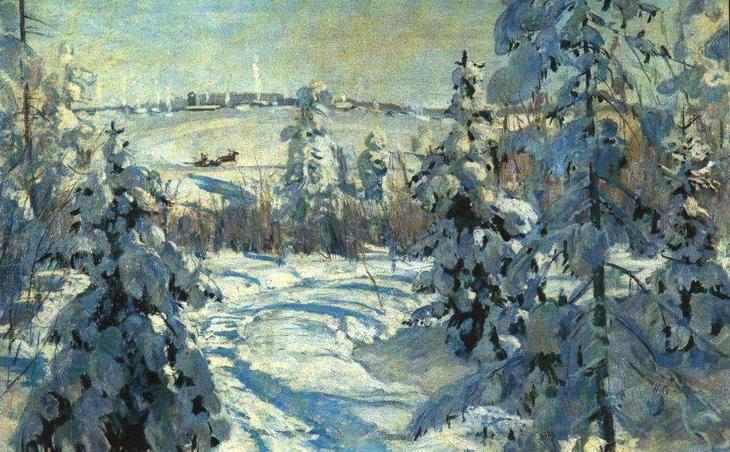 Николай Ромадин Зима