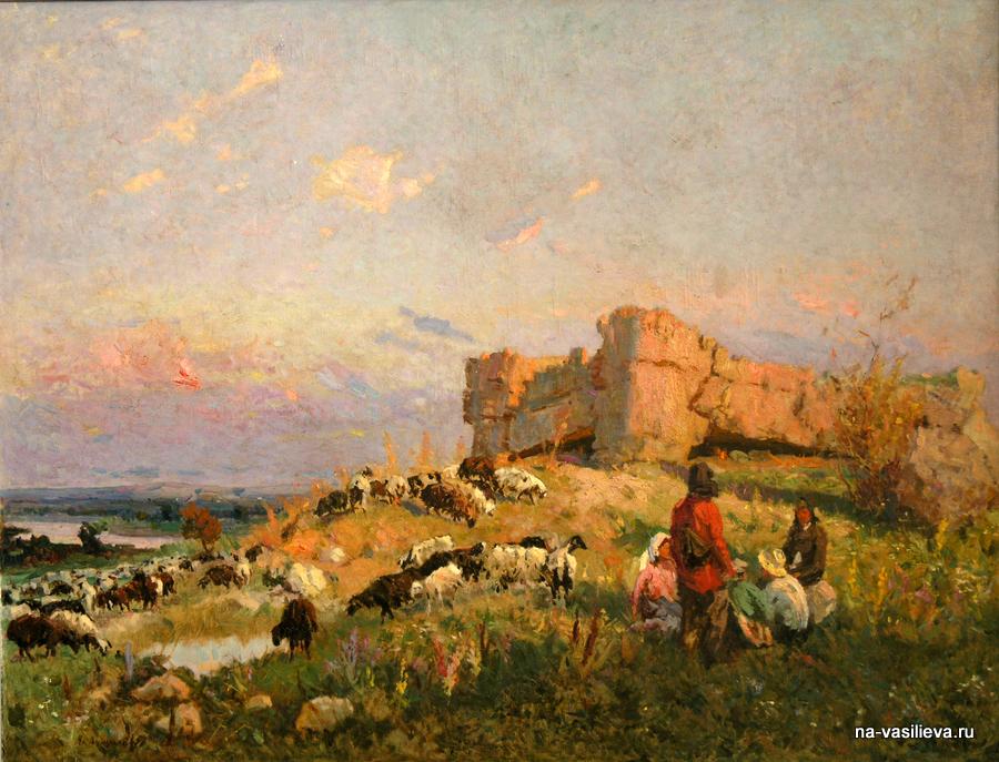 Выставка молдавского художника Алексея Александровича Васильева