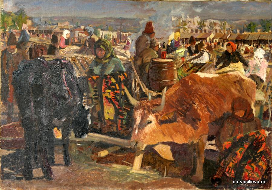 Выставка художника Алексея Александровича Васильева