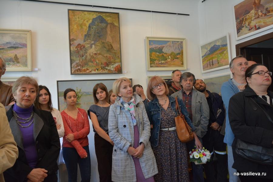 Выставка А. Василььева