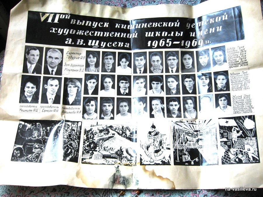 1-й выпуск Натальи Васильевой (1965 - 1969)