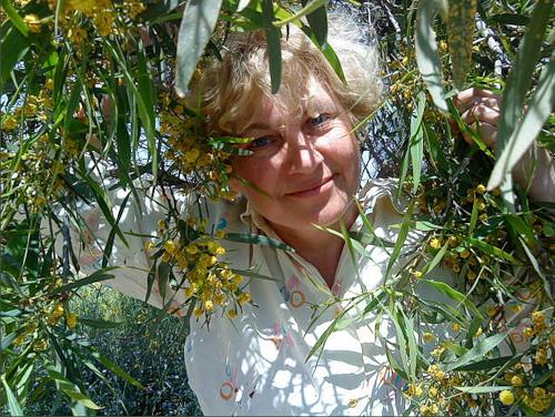 Елена Соколовская - ученица НА