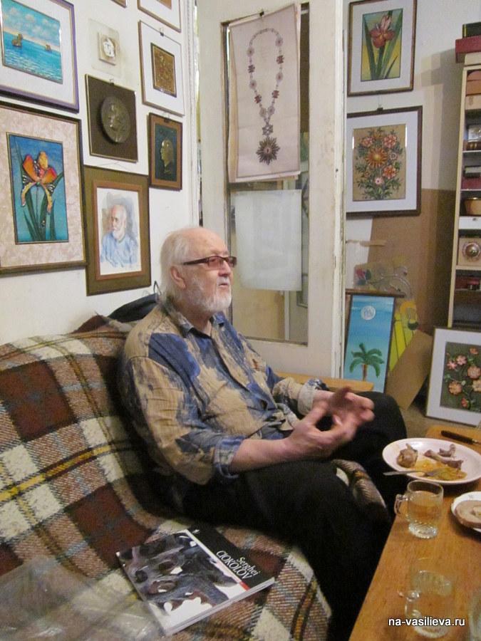 Молдавский художник Семен Одайник вспоминает…