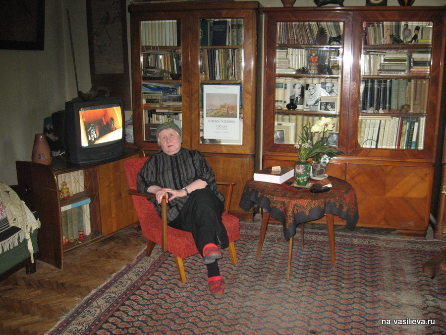Дом Натальи Алексеевны принимает ее учеников