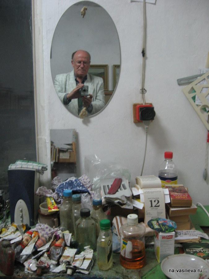 Фоторепортаж с мастерской Вячеслава Игнатенко