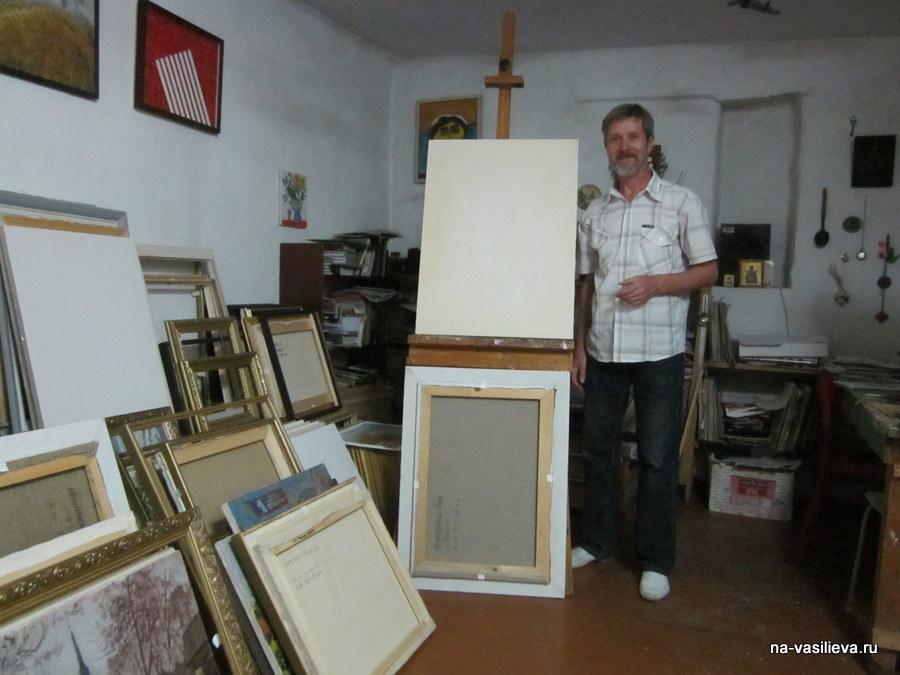 Мастерская художника Игнатенко