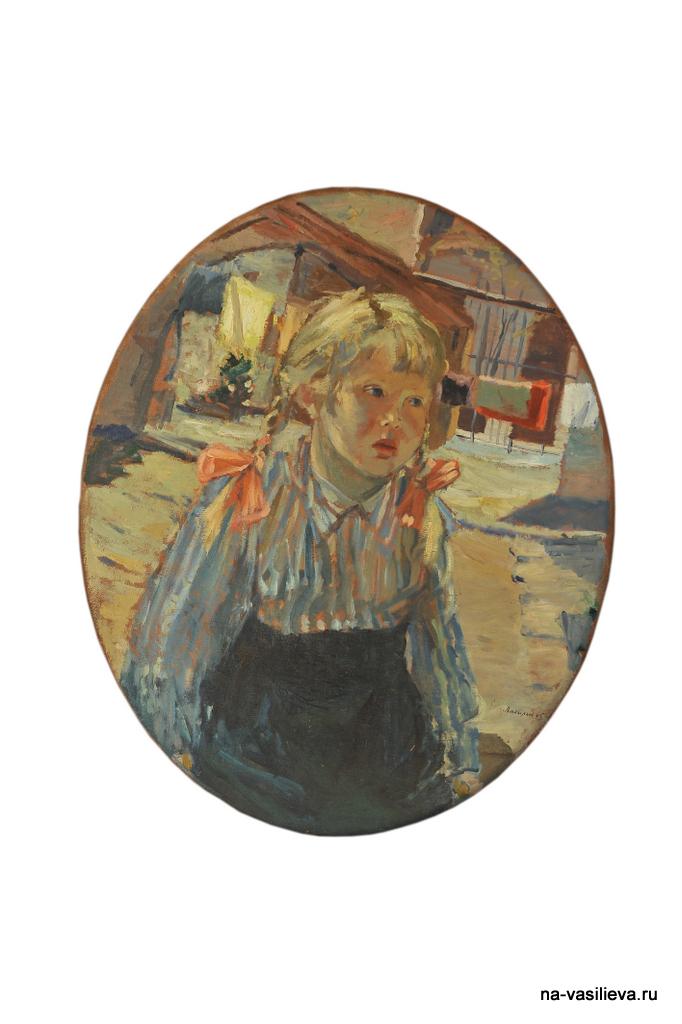 Портрет Наташи написан Алексеем Васильевым