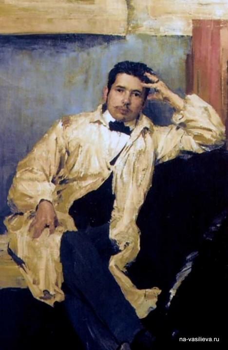 Малявин Сомов 1895