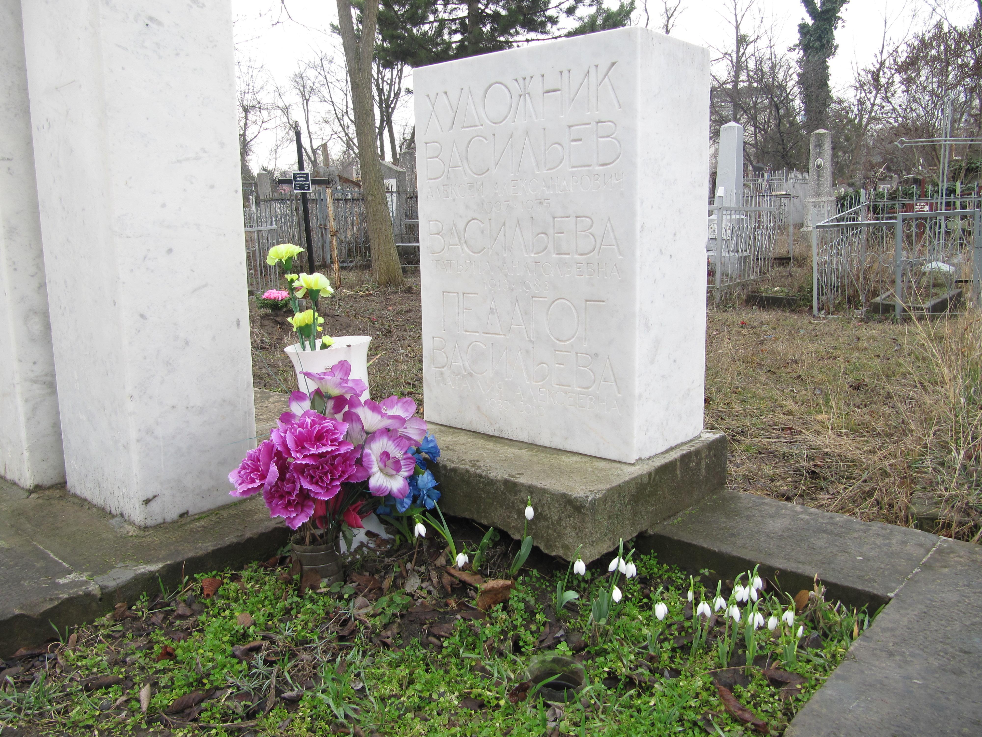 кладбище. Цветочки