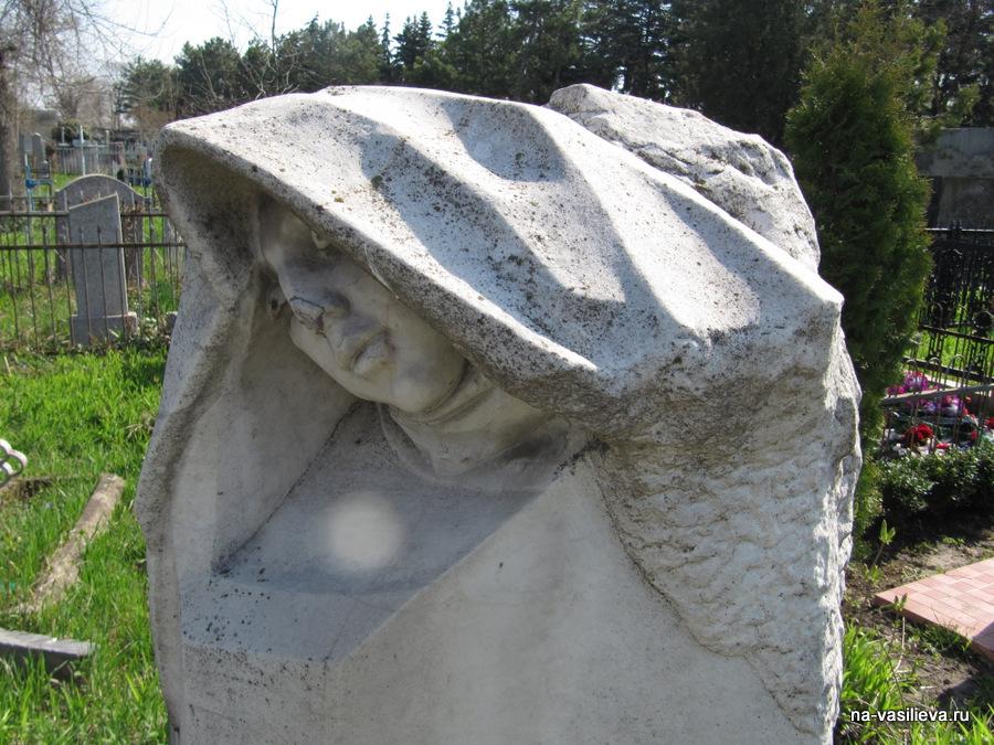 могила родителей и жены Дубиновского
