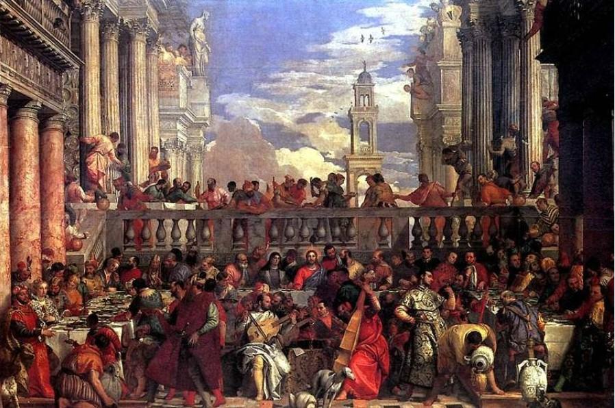 Веронезе Христос в Каннах
