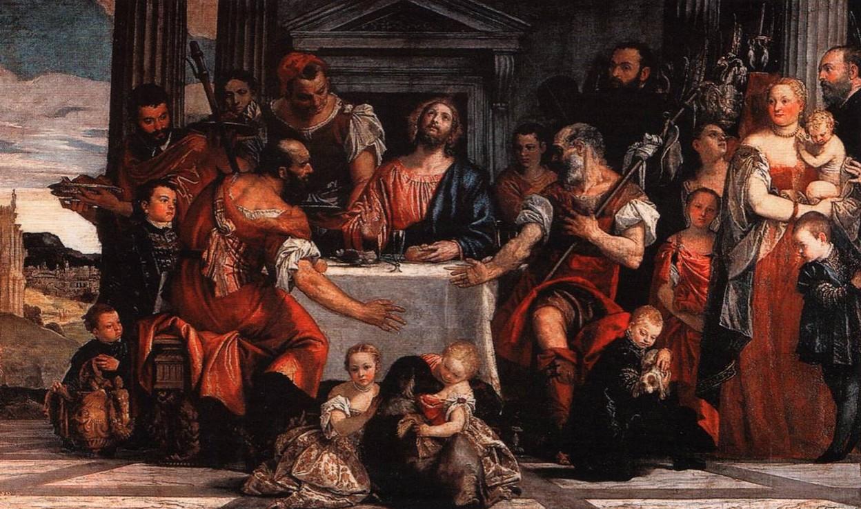 Веронезе Христос в Эмаусе