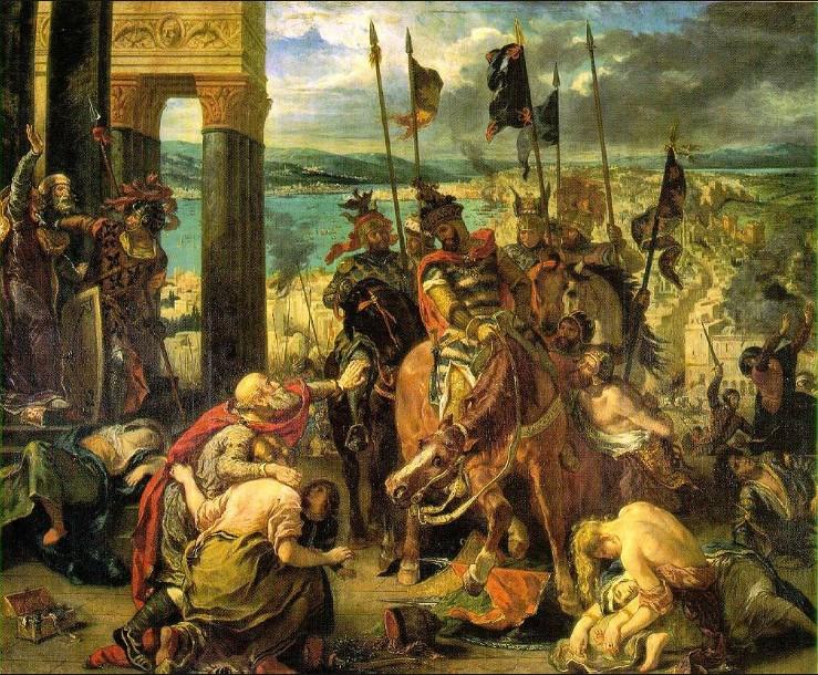 Въезд в Константинополь