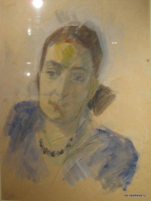Портрет М. Левидовой
