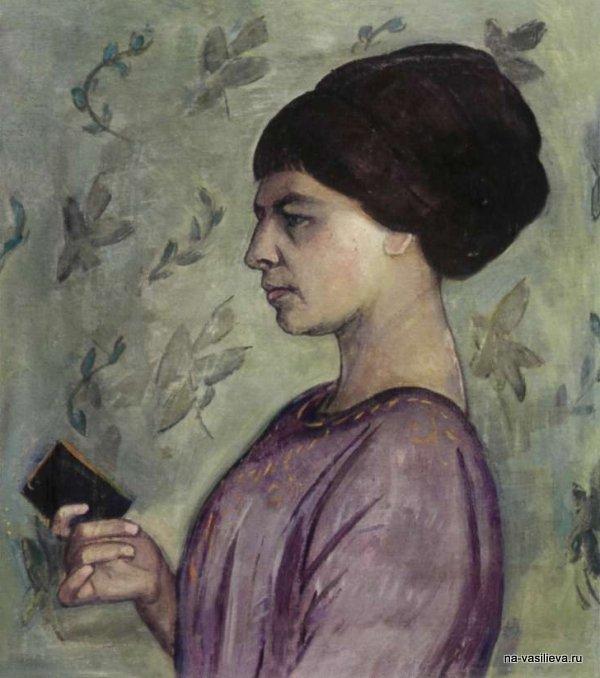 Портрет Е. С. Потехиной, 1911