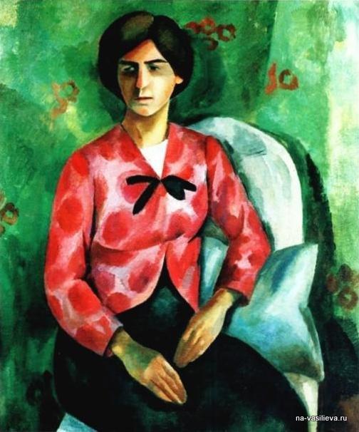 Портрет Елизаветы Сергеевны Потехиной, 1910