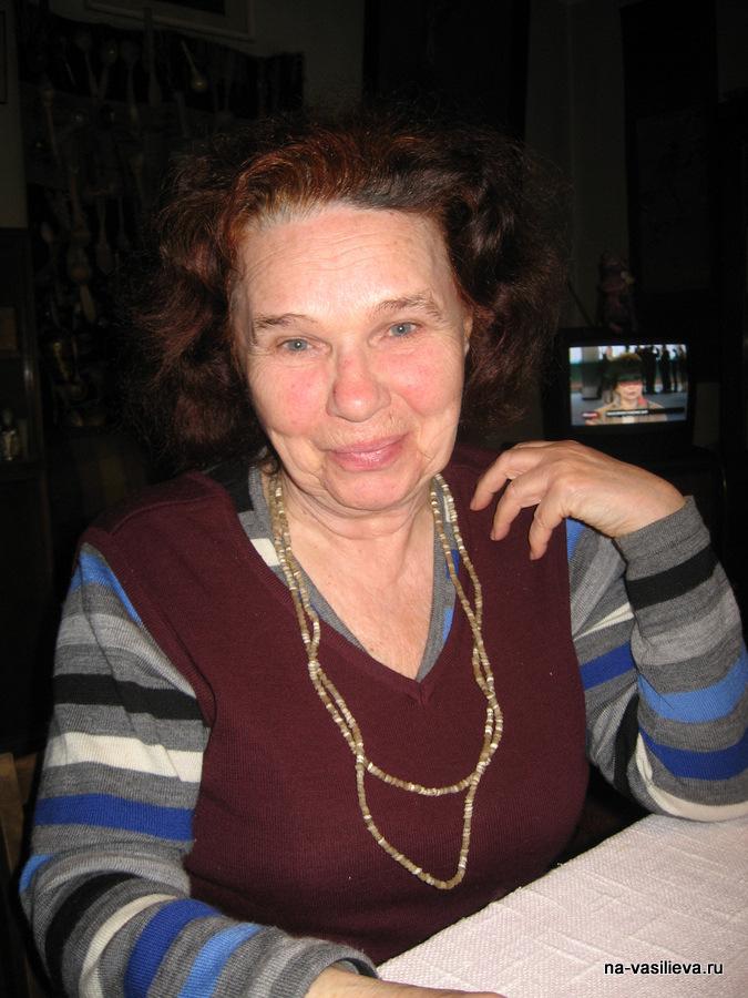 Елена Андреевна - мама Майи