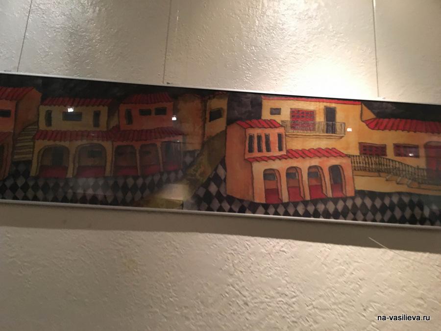 Выставка картин Майи Мазиной в Копенгагине