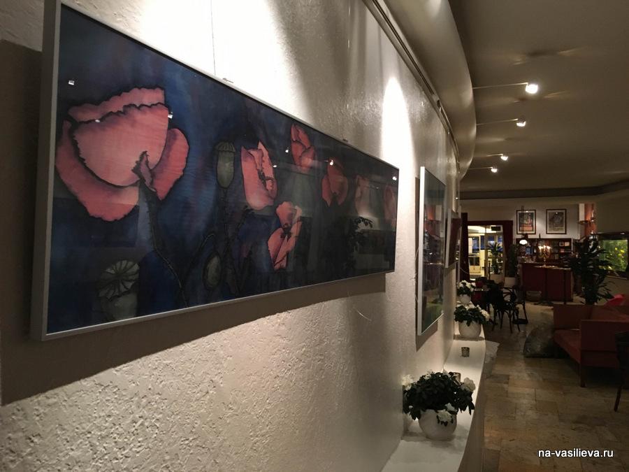 Выставка Майи Мазиной