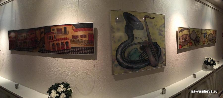Картины Майи Мазиной