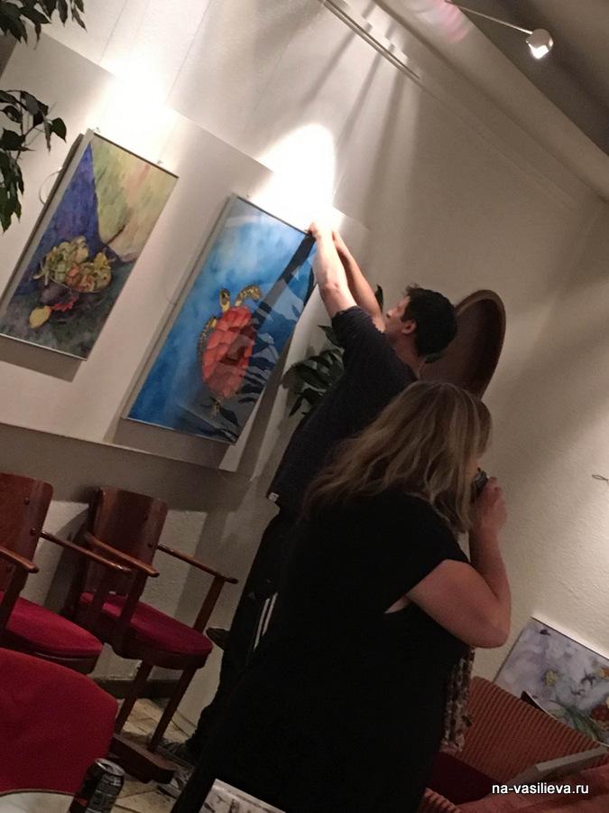 Майи Мазиной фото с выставки