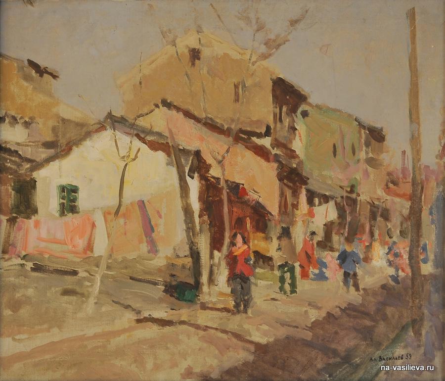 улица в Нанкине