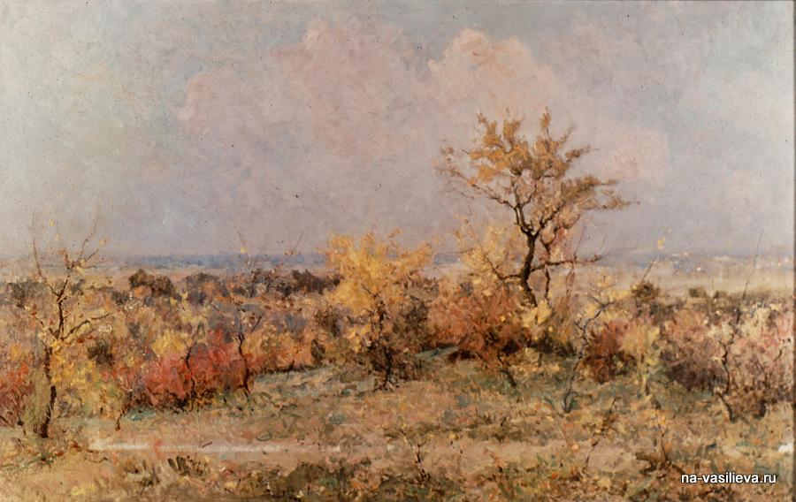 Осень в Молдавии