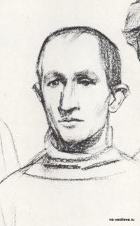 Порфирий Крылов. Фрагмент рисунка