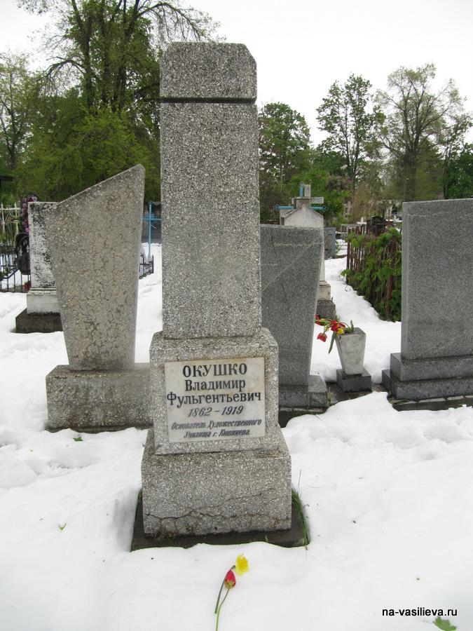 Могила художника В. Окушко