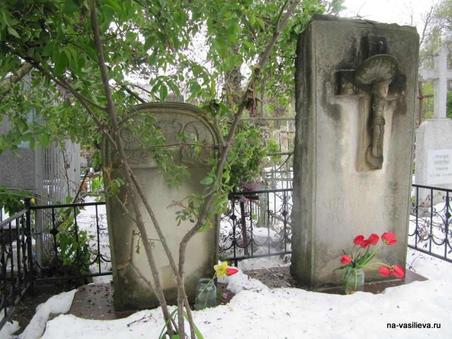 Могила художника М. Греку