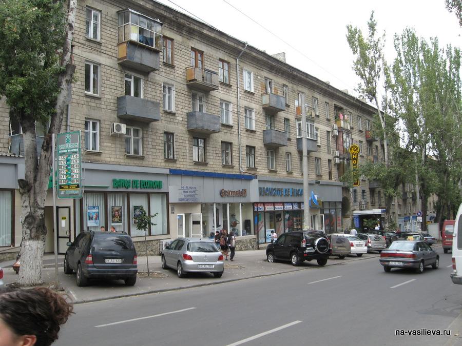Кишинев Дом по Пушкина 35