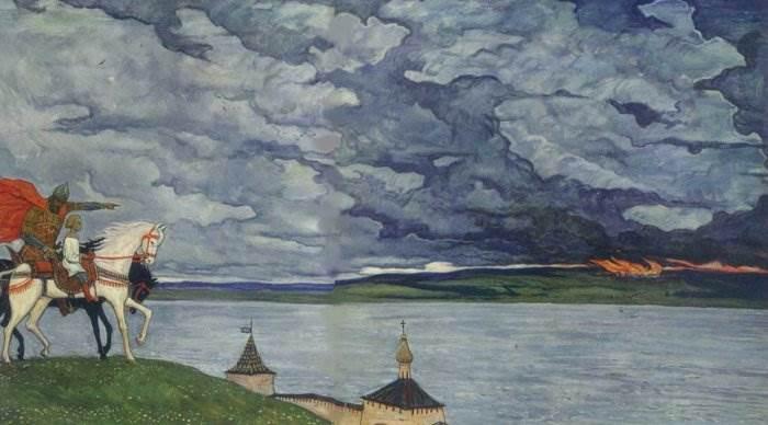 И. Глазунов Россия