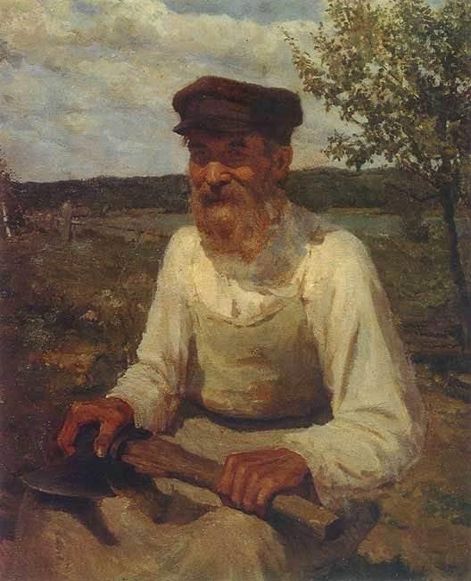 И. Глазунов Старик
