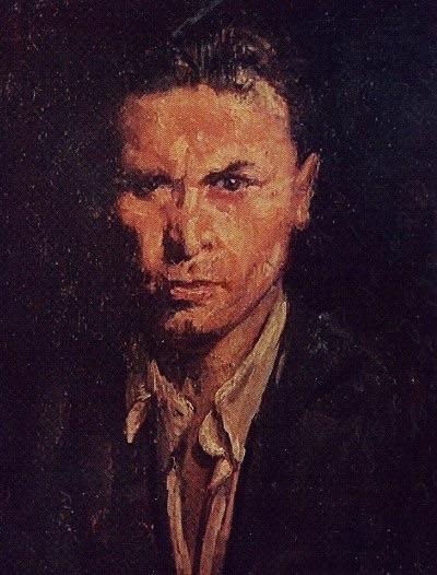 Николай Ромадин Автопортрет