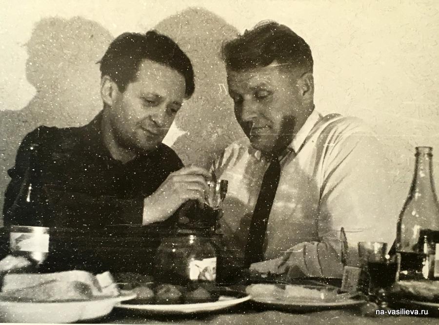 Леонид Квальвассер и Александр Смирнов. 1966 год, Харьков.