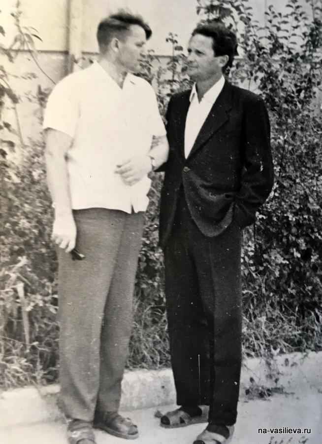 А. Смирнов и Л. Квальвассер. 1969, Кишинев