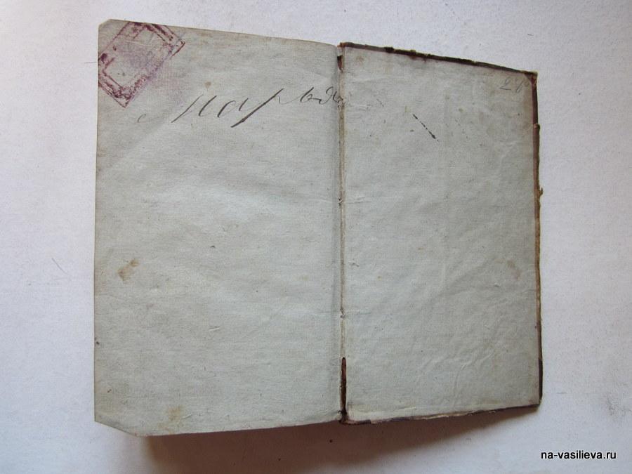 Самая древняя книга в библиотеке Васильевых