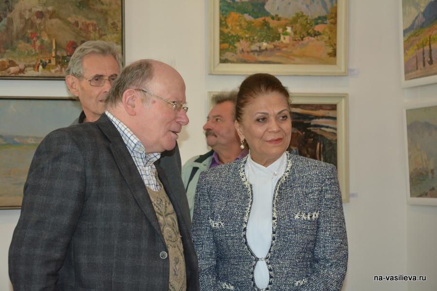 Выставка Алексея Василььева