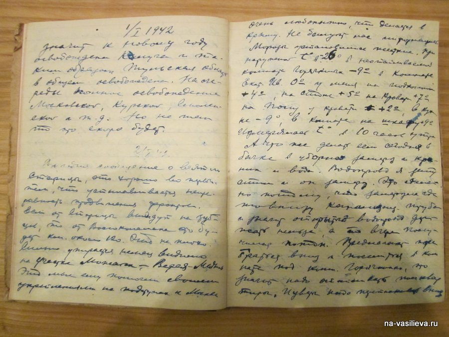 военный дневник Анатолия Буслова
