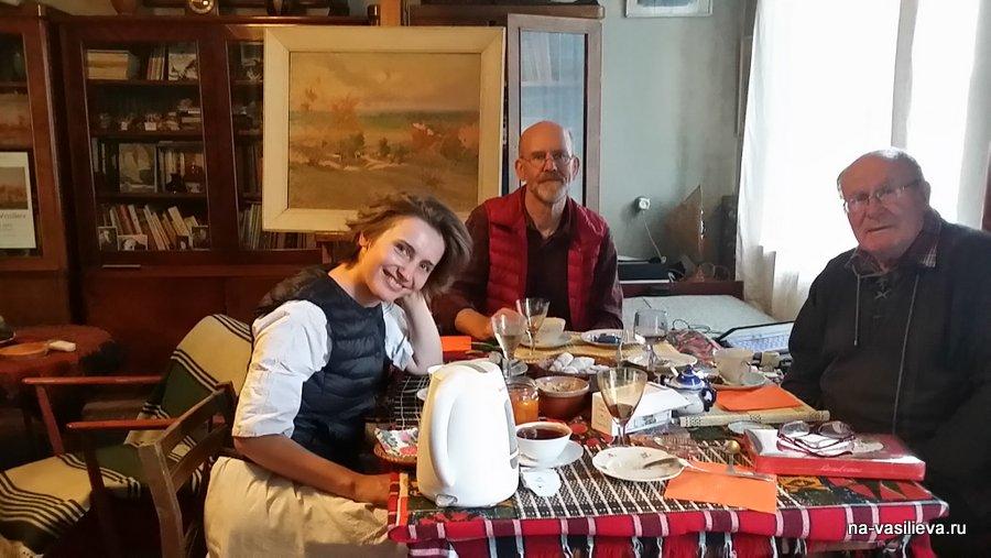 В доме НА. Саулова