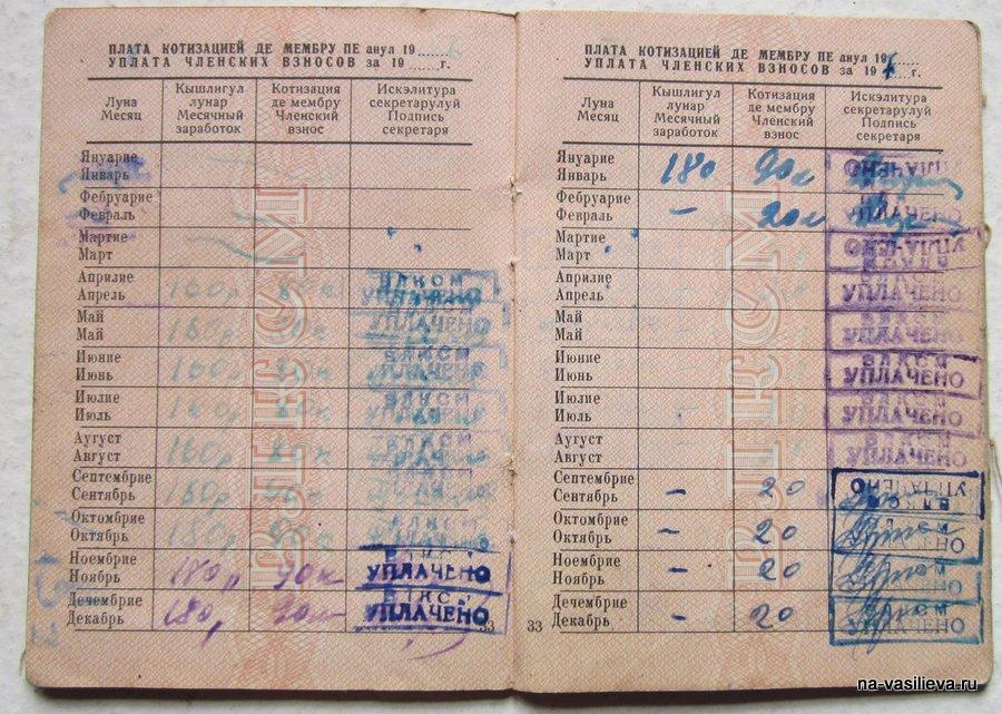 Комсомольский билет 3