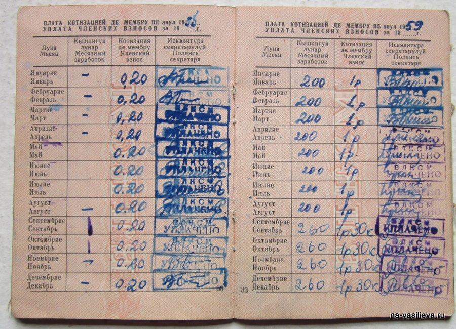 Комсомольский билет 4