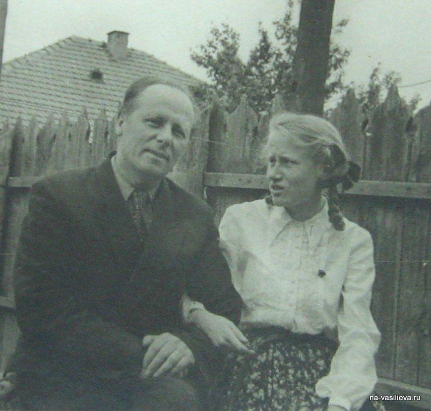 Алексей Васильев с дочкой