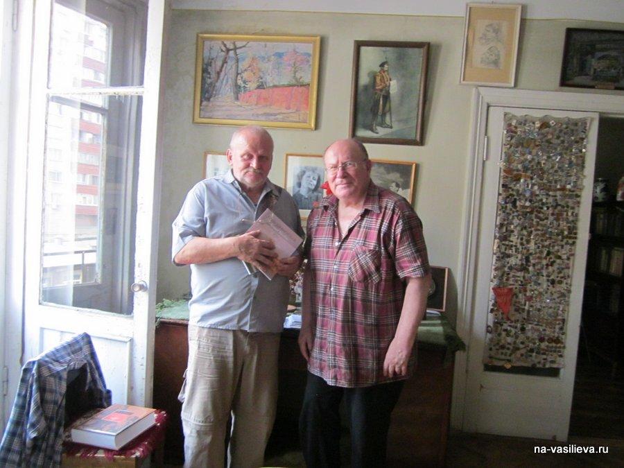 В доме НА. Ковалев