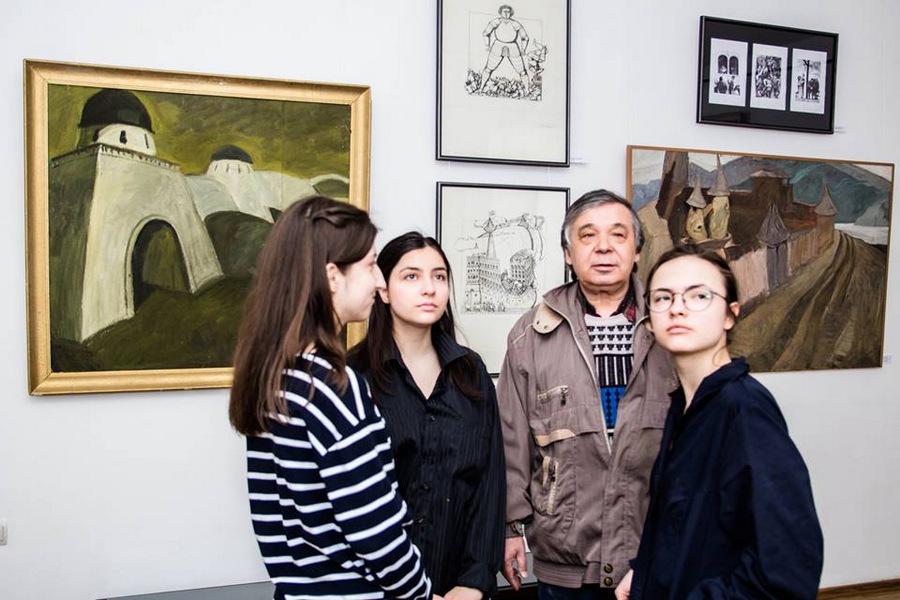 """Выставка """"Наталья Васильева и ученики"""" 34"""